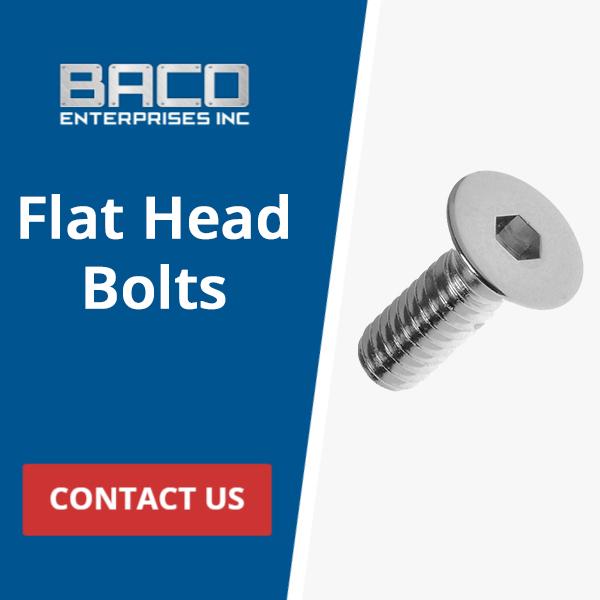 Flat Head Bolts Banner 250x250