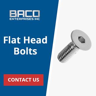 Flat Head Bolts Banner 320x320