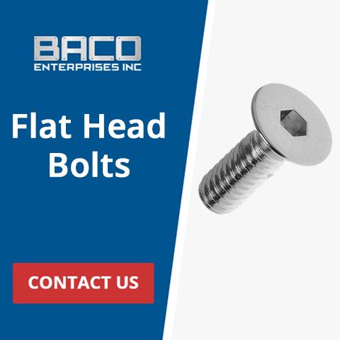 Flat Head Bolts Banner 480x480