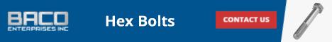 Hex Bolts Banner 468x60