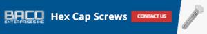 Hex Cap Screws Banner 300x50