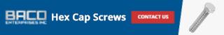Hex Cap Screws Banner 320x50