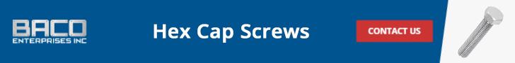 Hex Cap Screws Banner 728x90