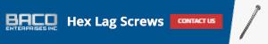 Hex Lag Screws Banner 300x50