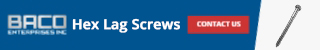Hex Lag Screws Banner 320x50