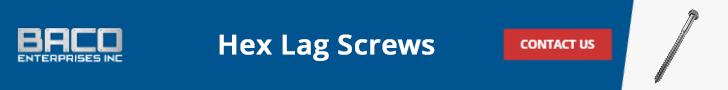 Hex Lag Screws Banner 728x90