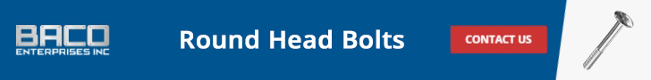 Round Head Bolts Banner 728x90