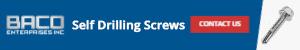 Self Drilling Screws Banner 300x50