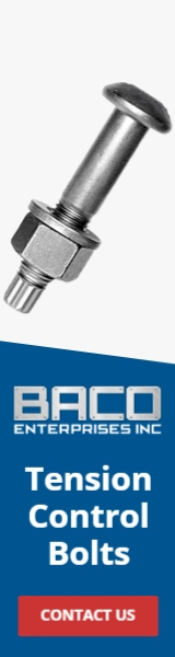 Tension Control Bolts Banner 160x600