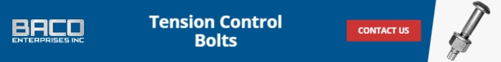 Tension Control Bolts Banner 728x90